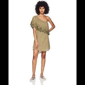 NWT O'Neill Olive Eryn One Shoulder Dress